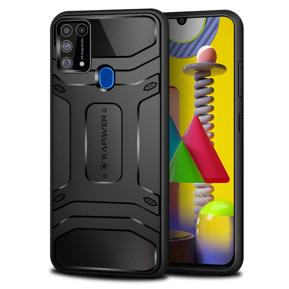 Kapaver Rugged Case for Samsung Galaxy M31