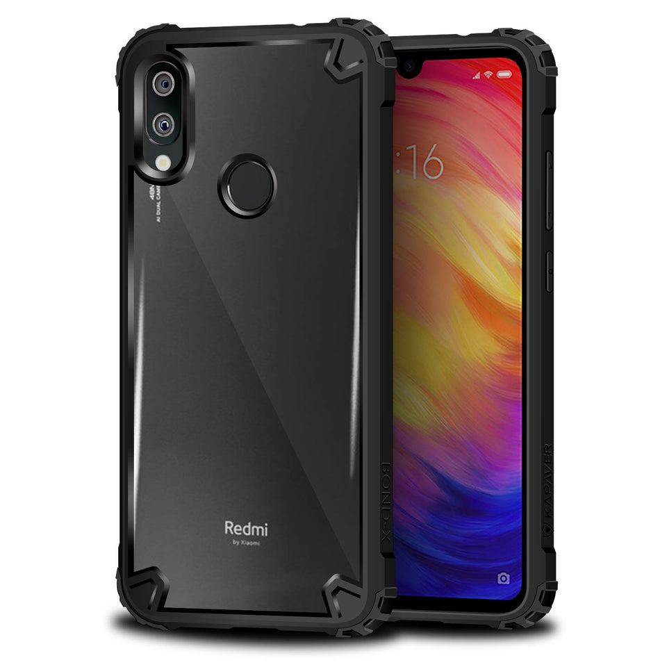 Kapaver Hybrid Bumper Case for Redmi Note 7 /  Redmi Note 7 Pro