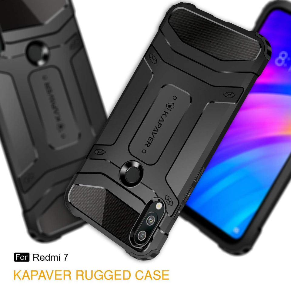 KAPAVER® Rugged Back Cover Case for Xiaomi Redmi Y3