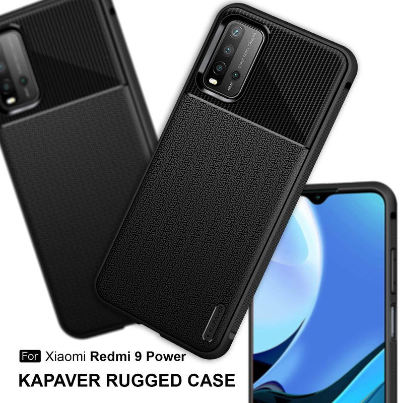 Kapaver Rugged Case for Redmi 9 Power