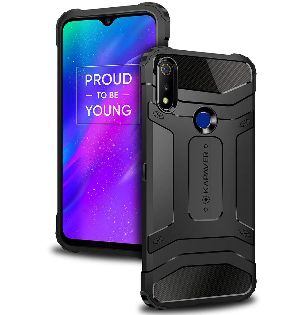Kapaver Rugged Case for Realme 3 Pro