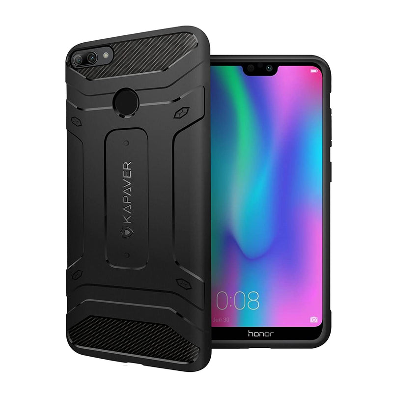 KAPAVER® Rugged Back Cover Case for Honor 9N