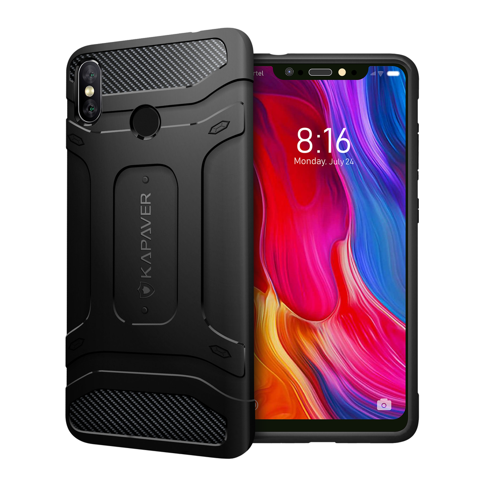 Kapaver Rugged Case for Xiaomi Mi 8 (2018)