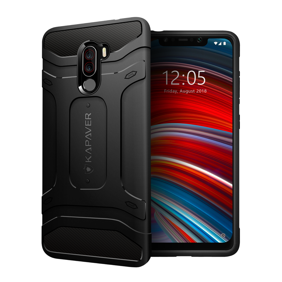 Kapaver Rugged Case for Xiaomi Poco F1