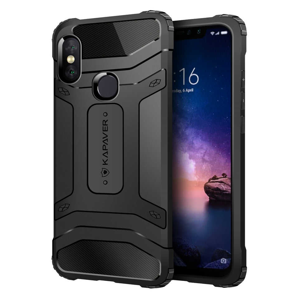 Kapaver Rugged Case for Redmi Note 6 Pro