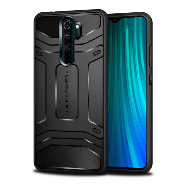 Kapaver Rugged Case for Xiaomi Redmi Note 8 Pro