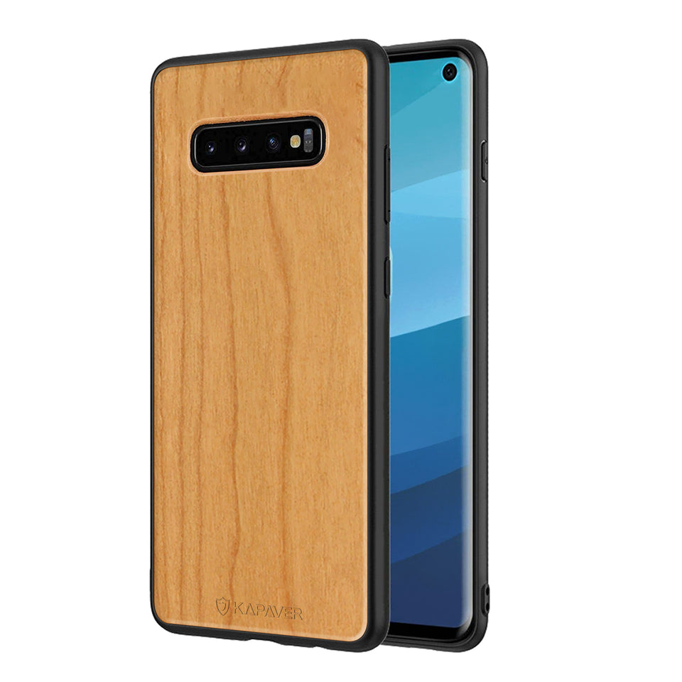 Kapaver Real Wood Phone Case  for Samsung Galaxy S10