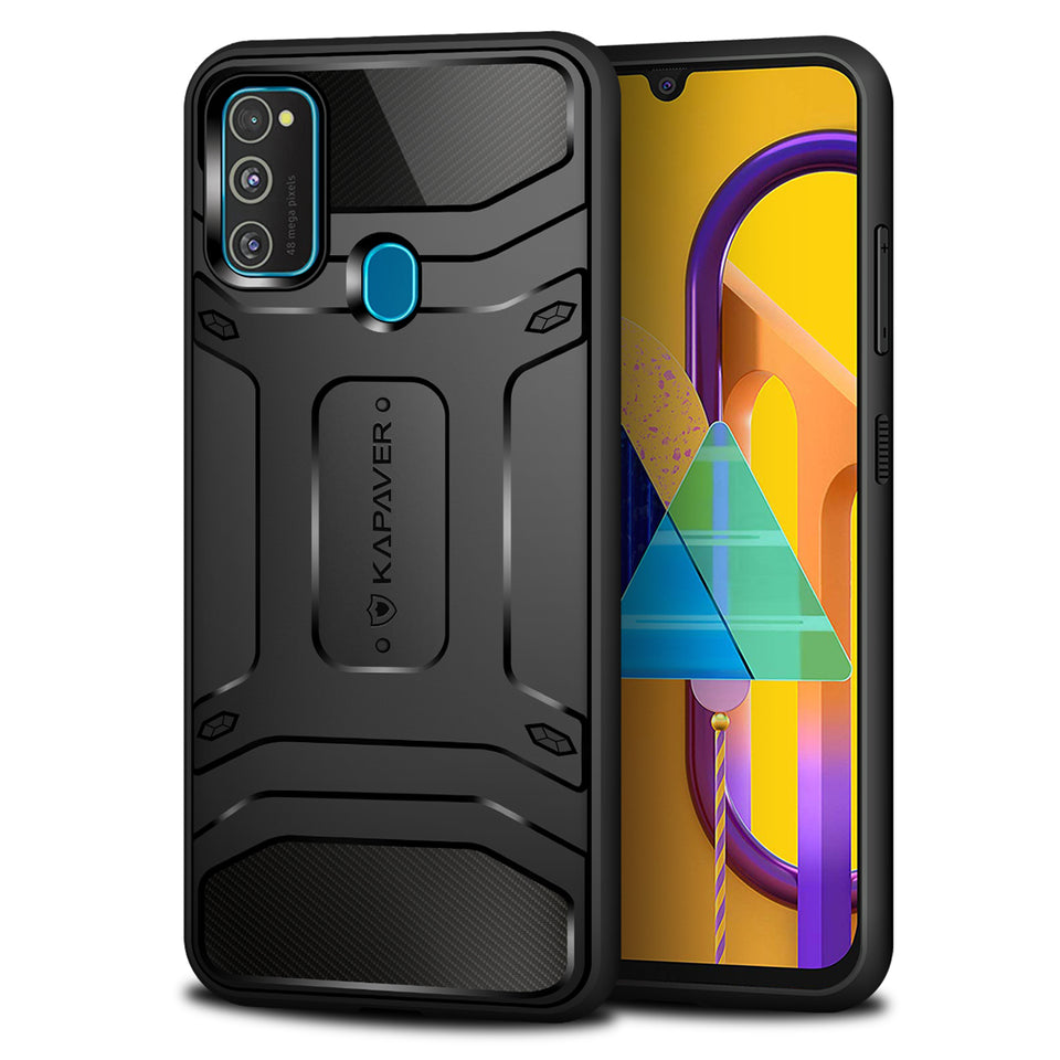 Kapaver Rugged Case for Samsung Galaxy M30s