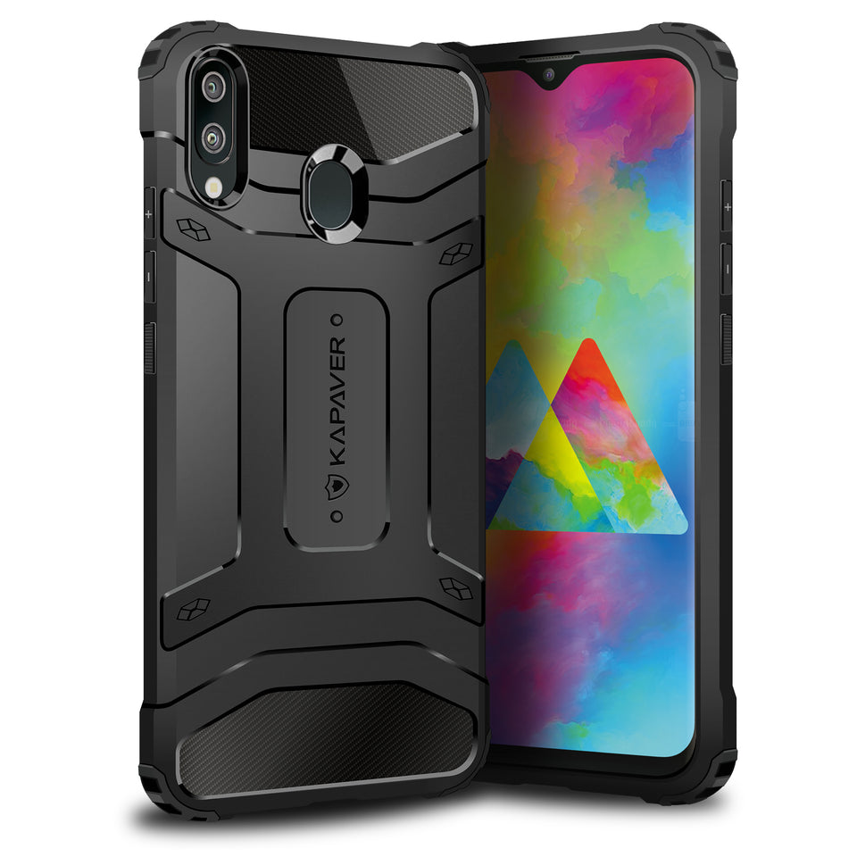 Kapaver Rugged Case for Samsung Galaxy M20