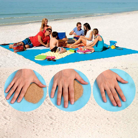Sand-Off™️- Magic Beach and Camping Mat by Curated Crate