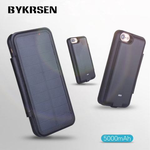 Solar Charging iPhone Case by Curated Crate