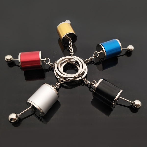 Gear Shift Keychain by Curated Crate