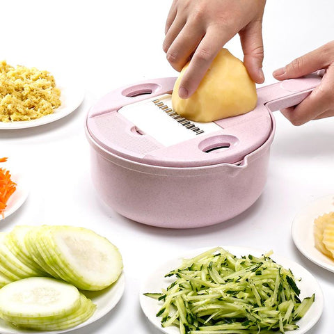 9 in 1 Multi Function Vegetable Chopper™️ by Curated Crate