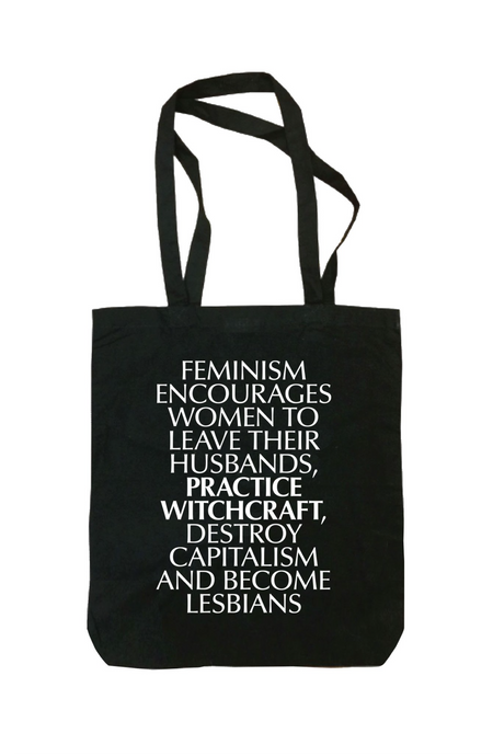 Leave Husband, Practice Witchcraft Tote