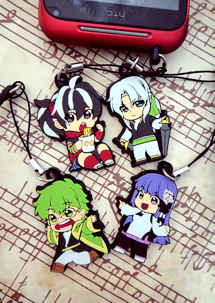 Carciphona Rubber Charms