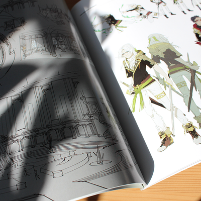 Fantasia: Sketch book by Shilin