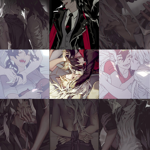 [PREORDER] [LIMITED] All 9 new prints set