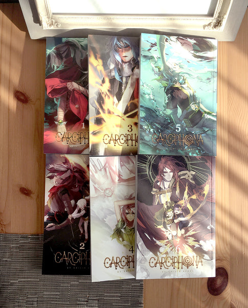 (ANY 3) Carciphona: manga series