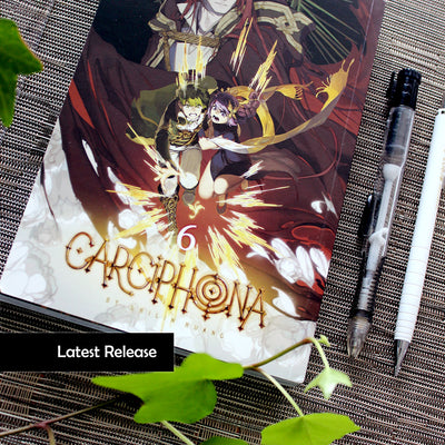 (ALL 6) Carciphona: manga series