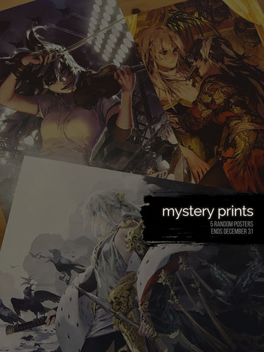 [LIMITED] Mystery prints 5-set
