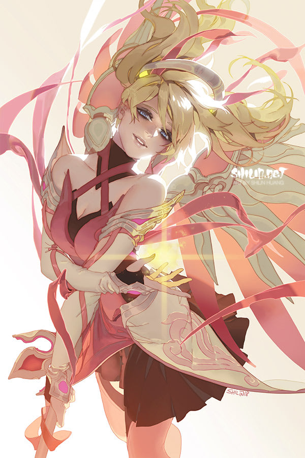"11"" x 17"" Poster: Pink Mercy"