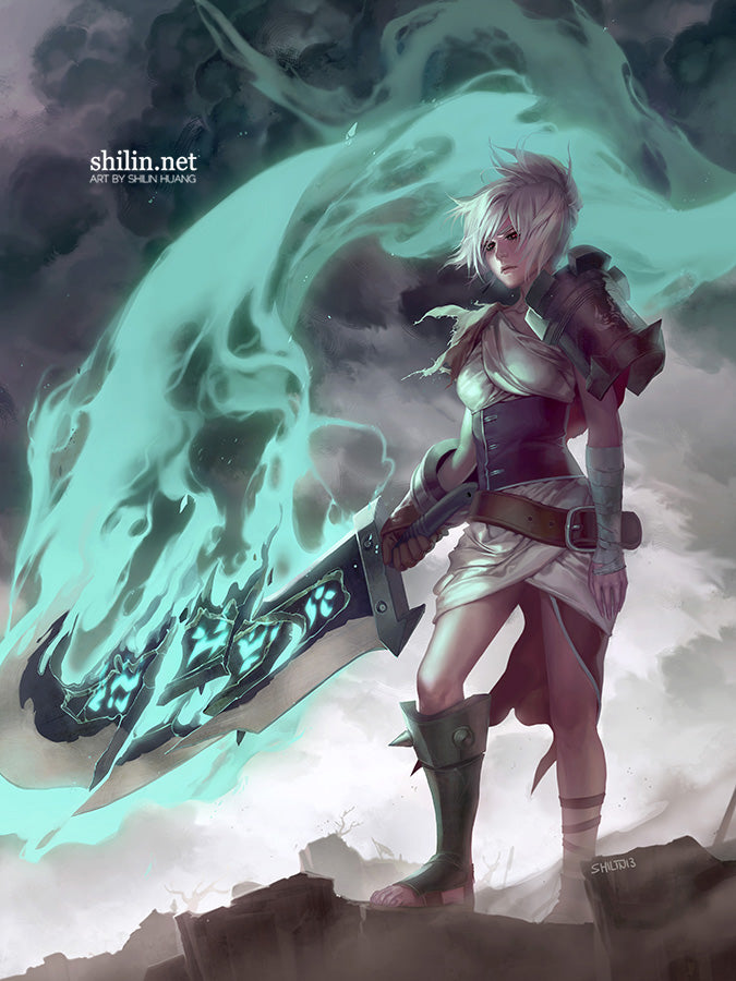 "18"" x 24"" poster: Riven"