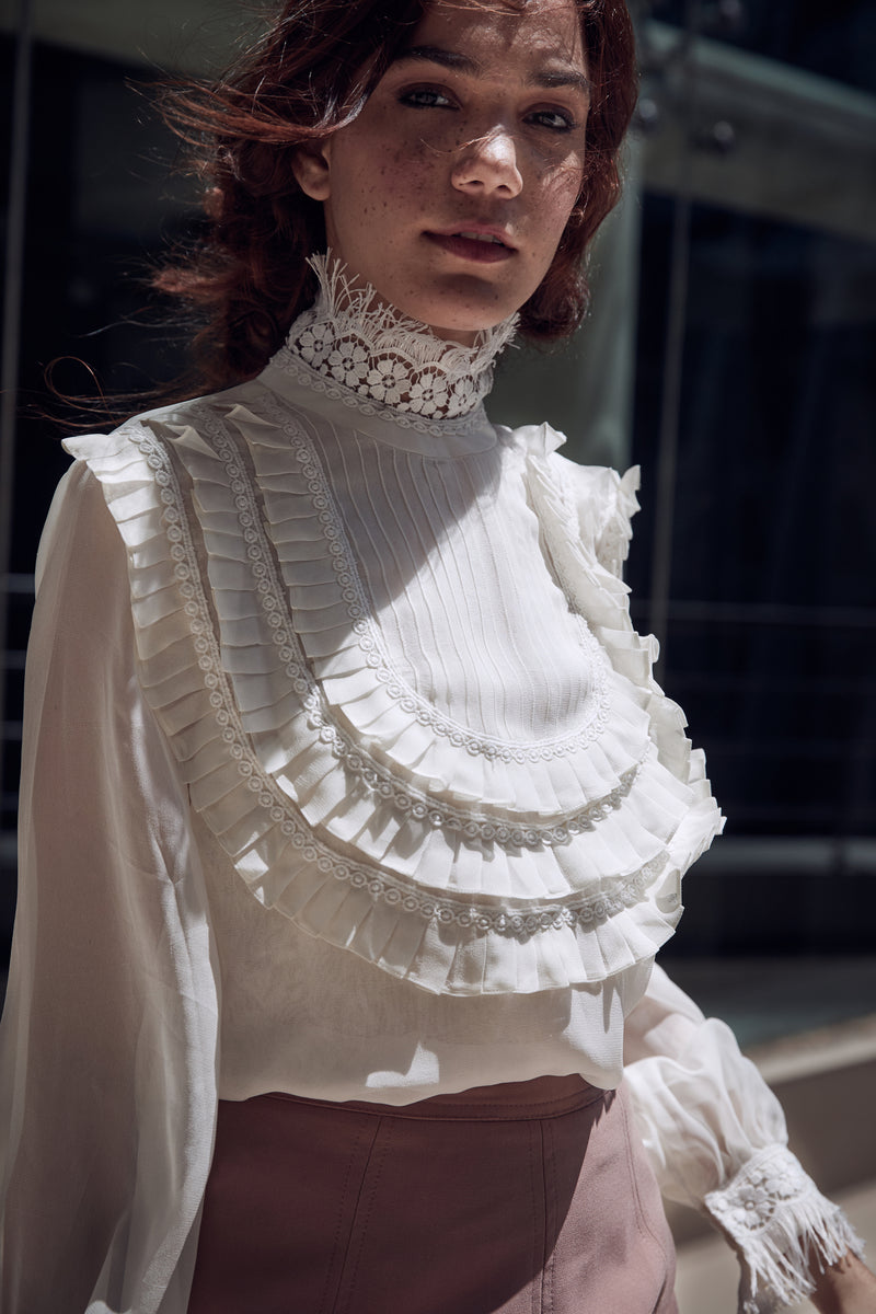 Victorian Lace Top