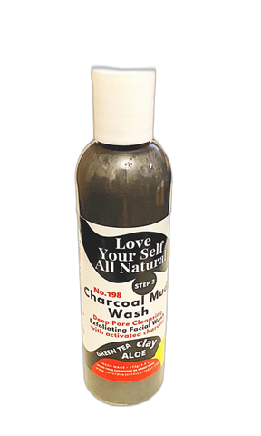 Charcoal Mud Facial  Wash