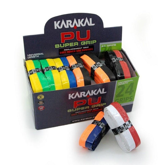 Karakal PU Super Grip - Duo - Assorted - Box of 24