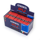 Karakal PU Super Grip - Solid - Red - Box of 24