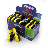 Karakal PU Super Grip - Duo - Black/Yellow - Box of 24