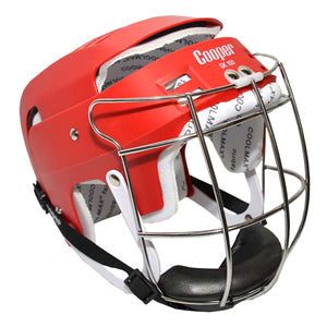 Cooper Junior SK100 Hurling Helmets - Red