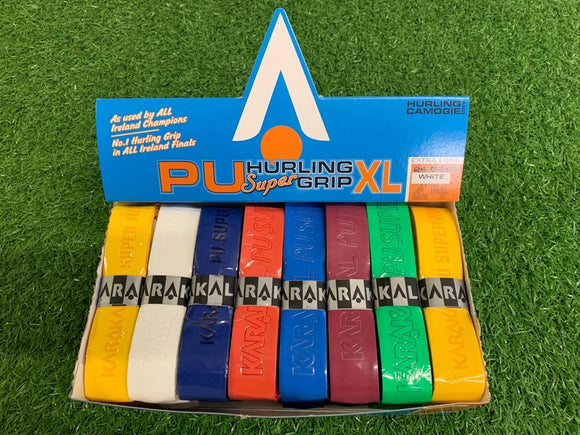 Karakal PU Super Grip - Hurling XL - Assorted 2 - Box of 24