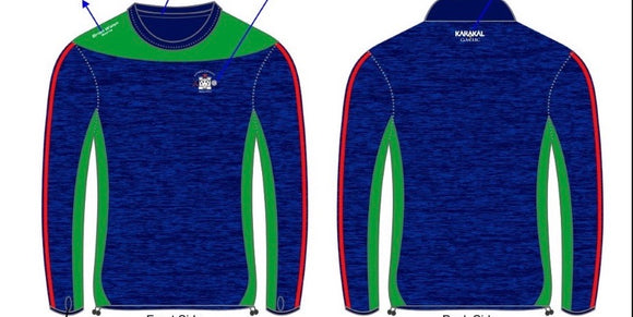 Rapparees long sleeve training top