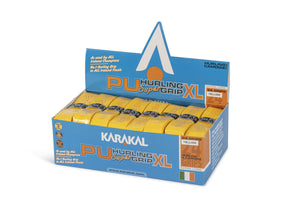 Karakal XL Pu Super Grip Hurling Yellow box 24