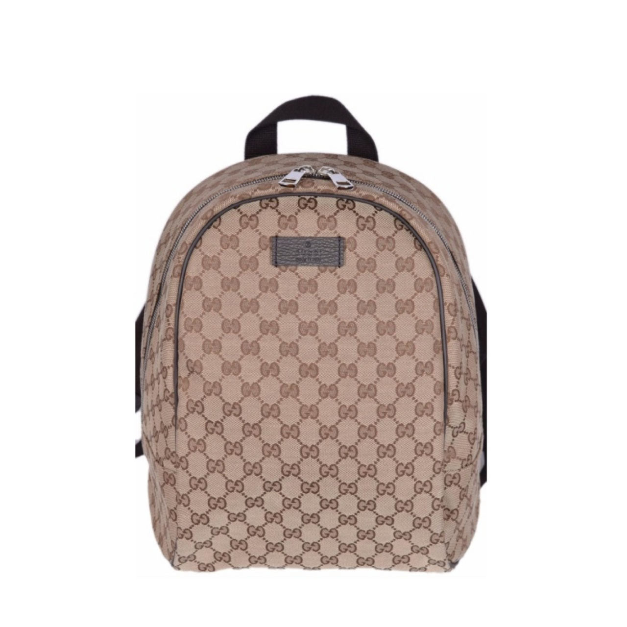5e891eb4ffe12 Gucci Beige Canvas GG Guccissima Backpack Rucksack Travel Bag – Buy2bee  Luxury