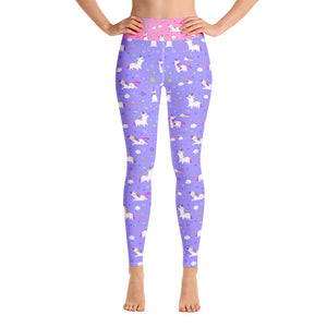 cad5e6aa34d0d Lilac and Pink Unicorn Gym Leggings – Alterna-active