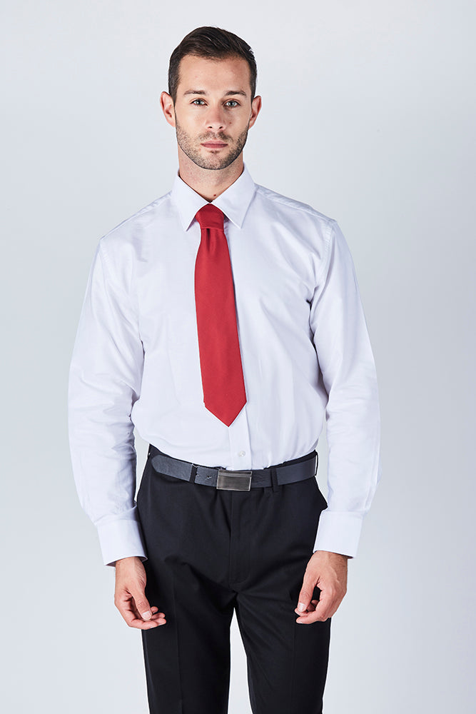 formal-white-oxford-collar-long-sleeve-shirt