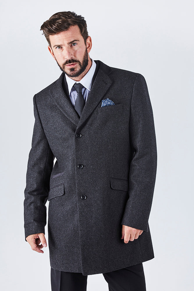 haydon-mens-grey-textured-overcoat
