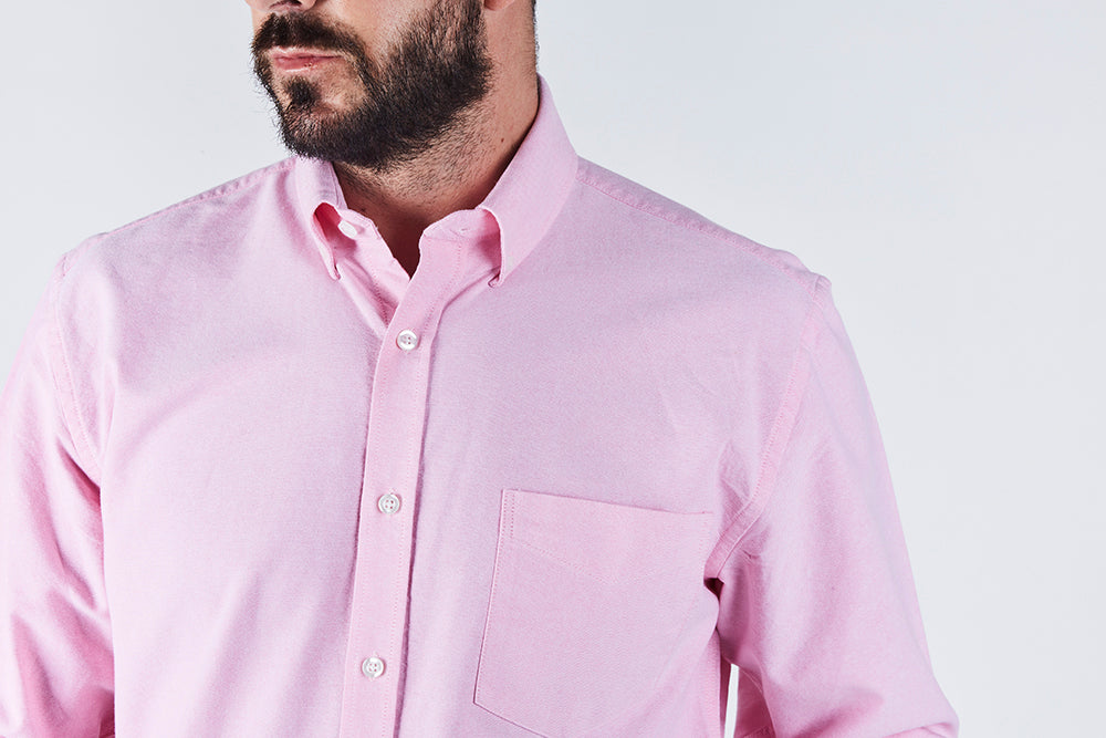 pink-oxford-collar-long-sleeve-shirt