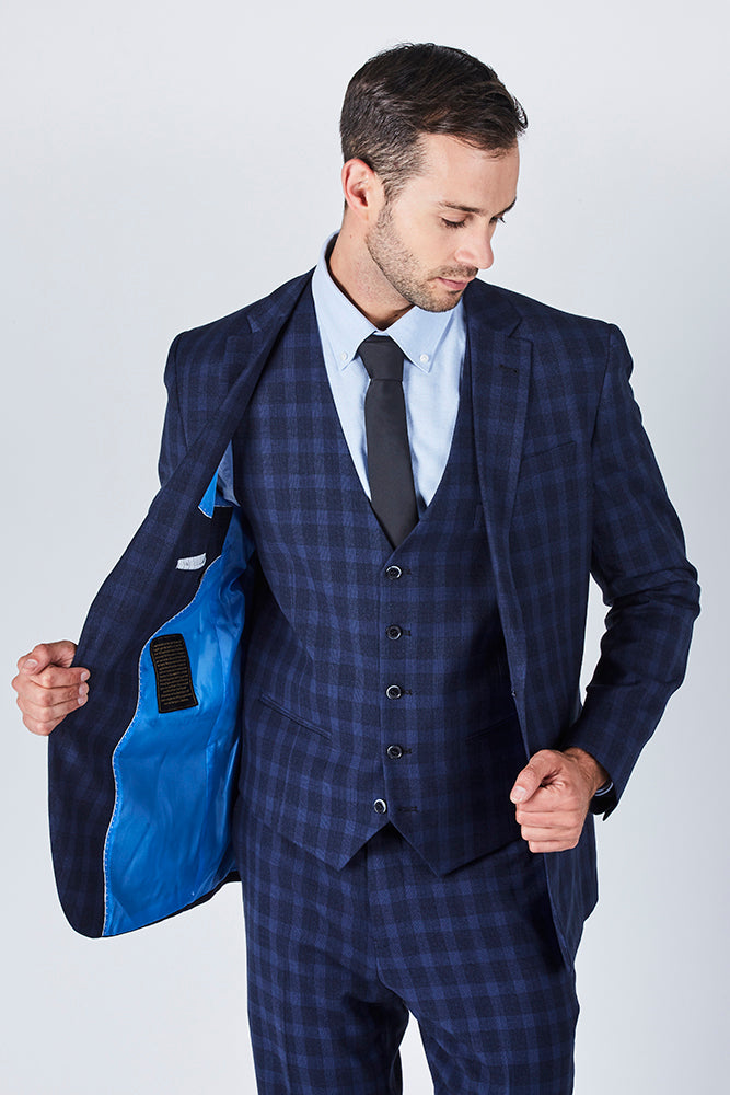 rhodes-mens-three-piece-tailored-blue-black-check-suit-jacket
