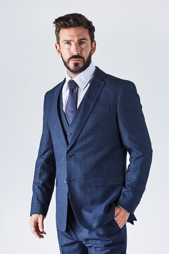 harrison-mens-three-piece-tailored-blue-prince-of-wales-check-suit-jacket