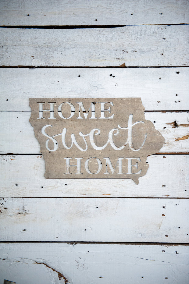 Home Sweet Home Galvanized