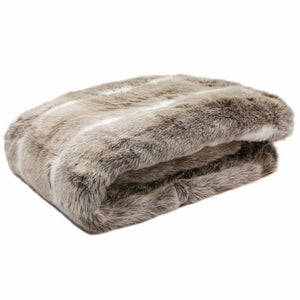 COSY HYGGE FAUX FUR THROW