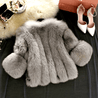 Load image into Gallery viewer, DONATA - FAUX FUR COAT