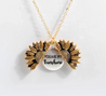 "Load image into Gallery viewer, You Are My Sunshine ""Sunflower Necklace"""