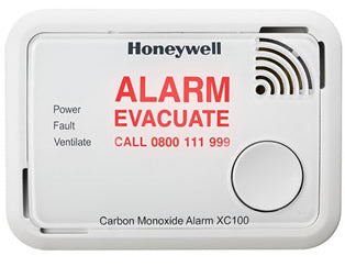 Honeywell XC70 and XC100 Carbon Monoxide Detectors
