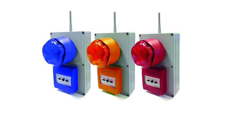 New NEXUS Wireless Alert System from Luminite – battery powered alerts for evacuation or lockdown