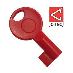 C-TEC Fire Alarm Panel Spare Replacement Test Key for CFP Unbranded S-KEY TC376