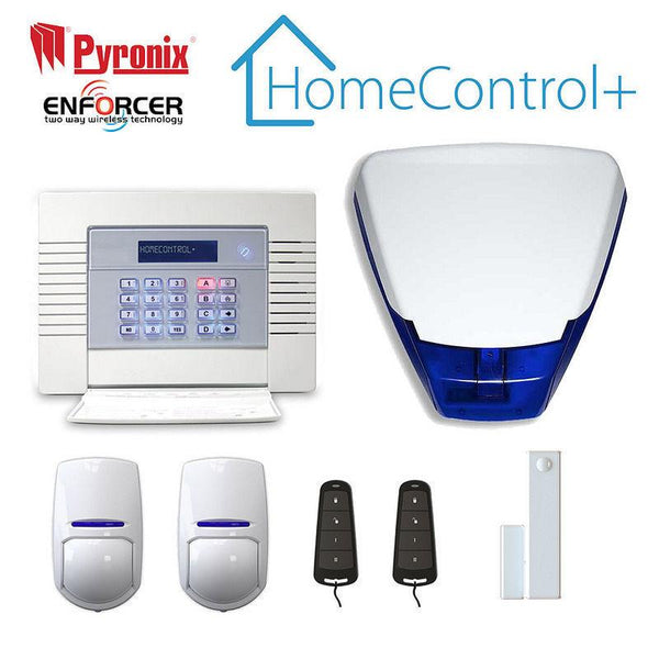 Pyronix Enforcer wireless Home alarm system. HomeControl+ Mobile App UK Stockist